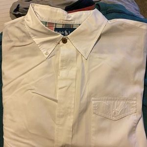 LS polo by Ralph Lauren button down. Thin set.